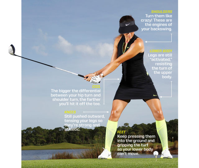 Michelle Wie Demonstrates How to Activate Glutes