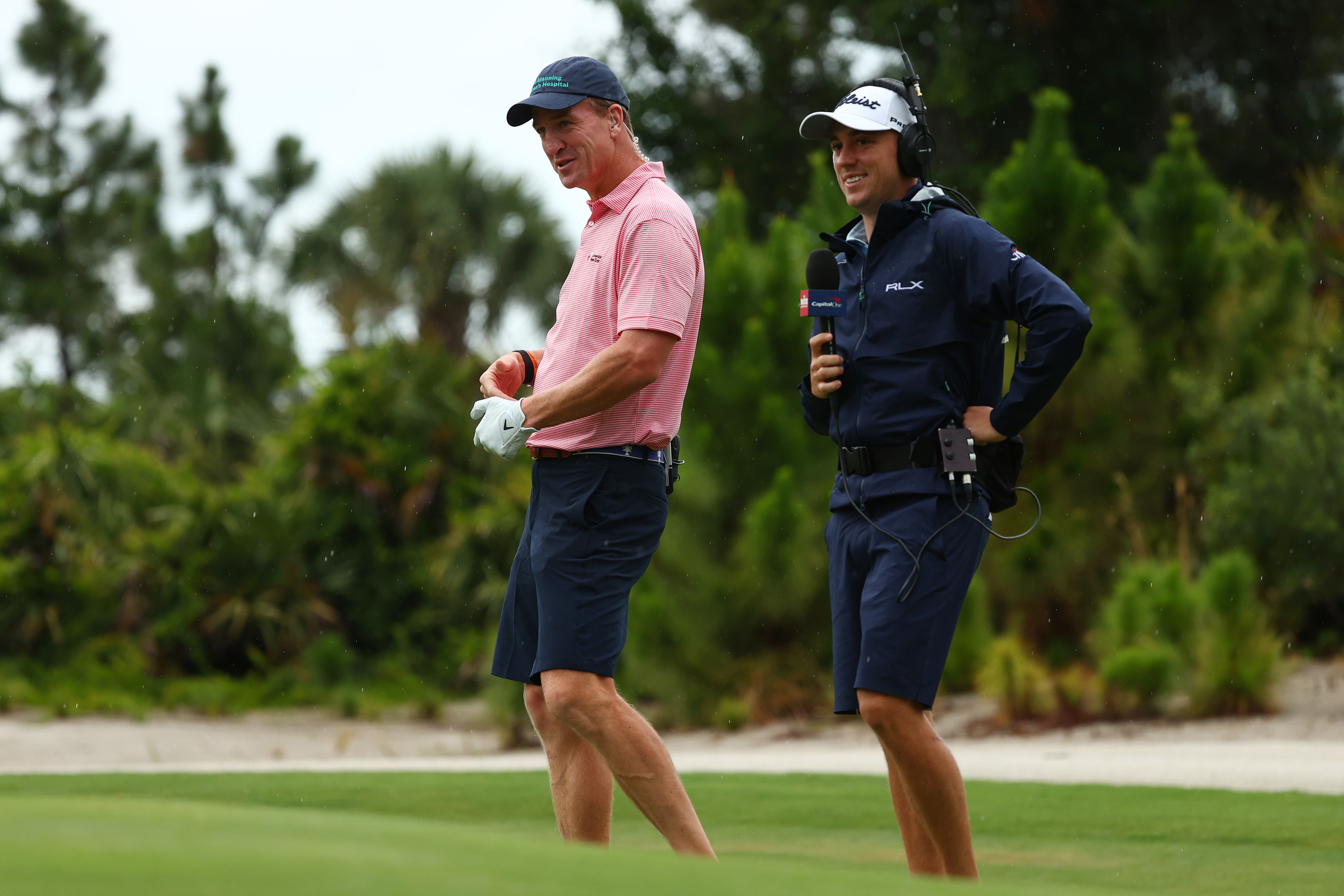 Justin Thomas Shines As On Course Commentator At The Match