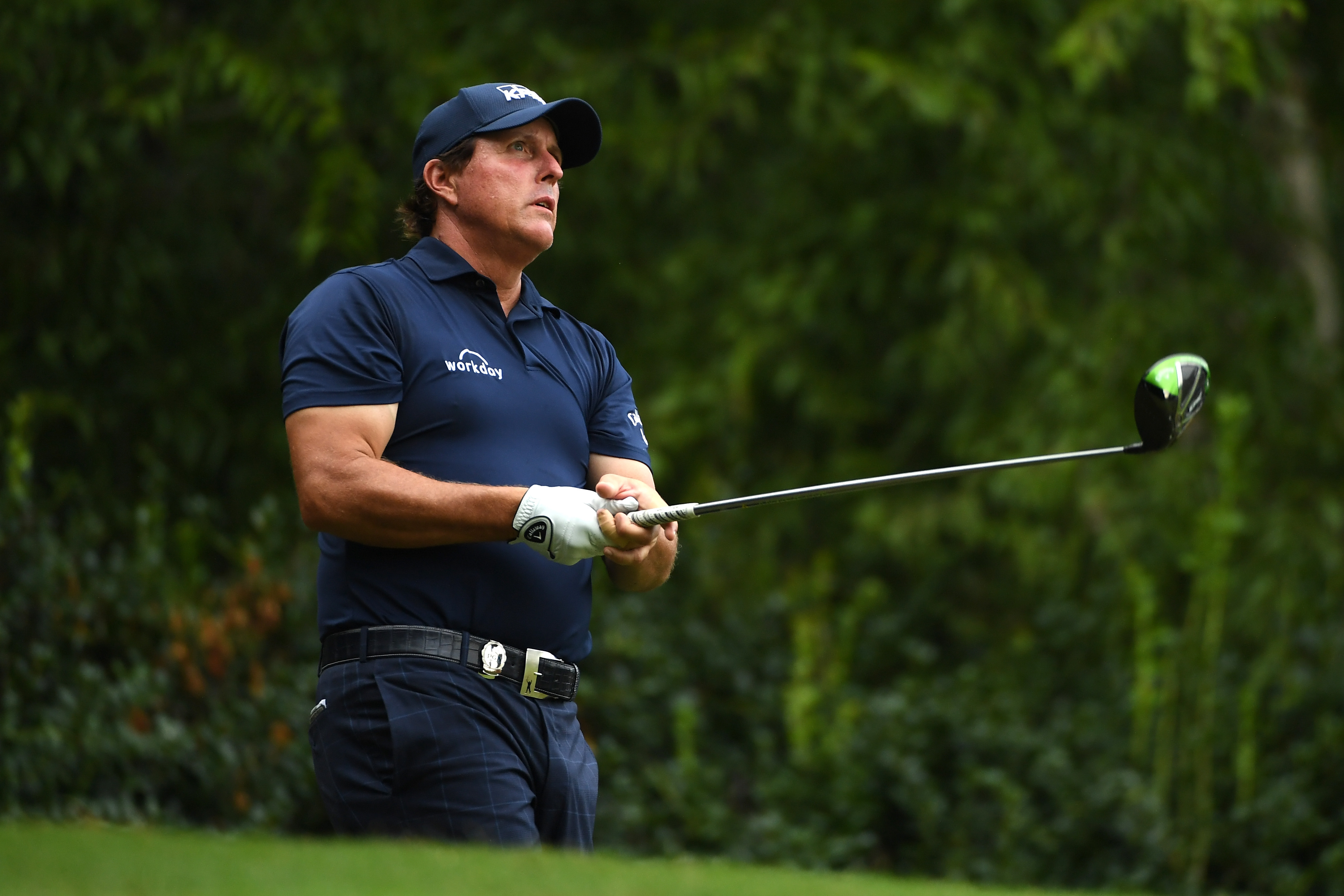 Mickelson hoping to rediscover his best form